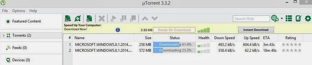 windows 8.1 update 2 download 32 bit