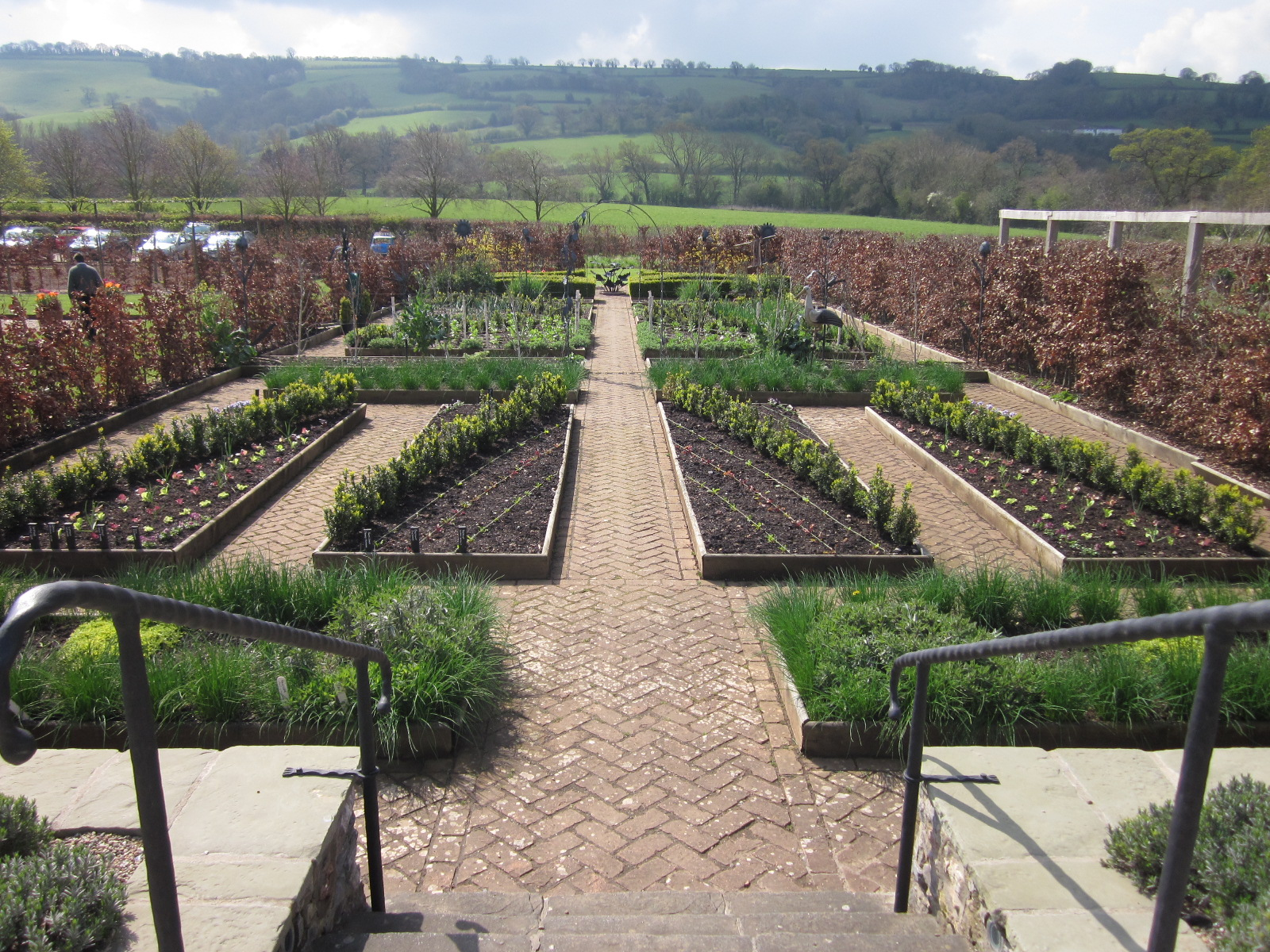 The Organic Garden At Holt Farm Revisited
