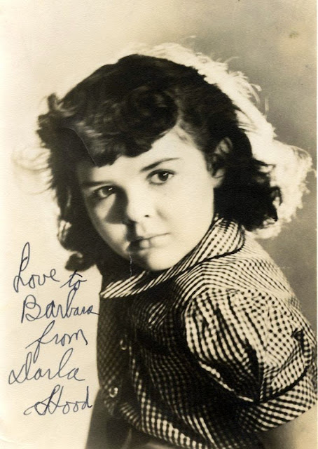 signed photo from Darla Hood