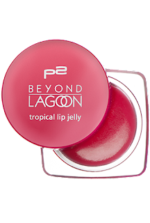 p2 Limited Edition: Beyond Lagoon - tropical lip jelly - www.annitschkasblog.de