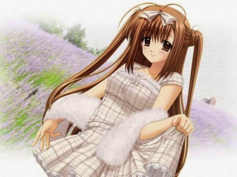 Gambar kartun anime jepang perempuan cantik