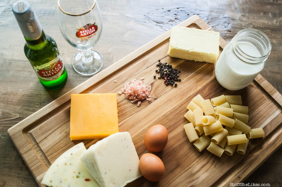 Mac and cheese recipe, Stella Artois, Beer, Blogger, food blogger, fashion blogger