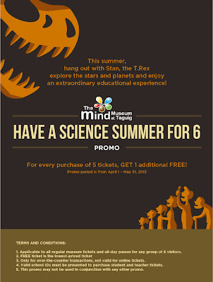 The Mind Museum at Bonifacio Global City