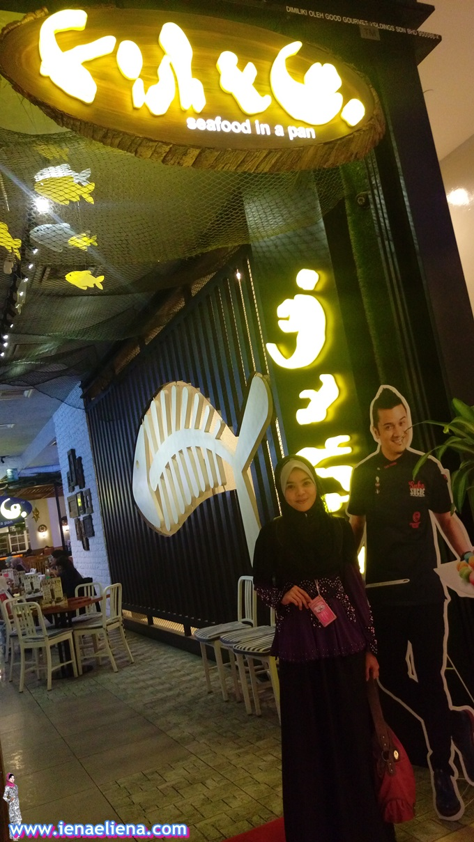 Iftar Bersama  Rakan Blogger Dan Ittify  di Fish & Co Pavillion Kuala Lumpur