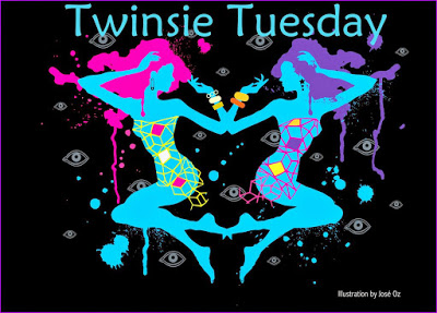 twinsie Tuesday, Twinsie tuesday BBF, nail art, twinsie tuesday nail art, gelish party at the palace swatch, a beauty and the business,