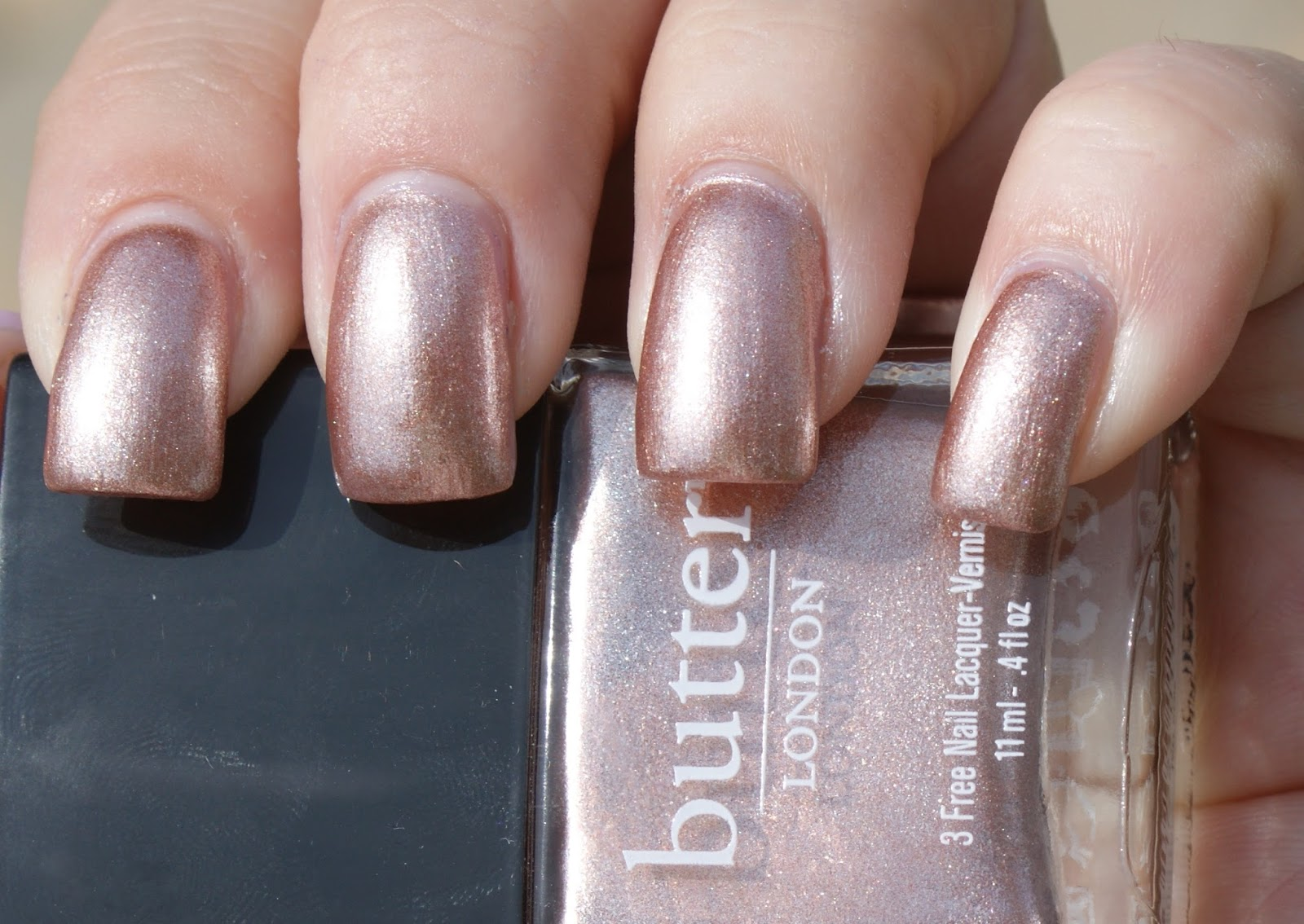 Princess Polish: Swatch and Review - butter LONDON Poole and Champers