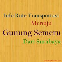 Info Rute Transportasi Menuju Gunung Semeru Dari Surabaya
