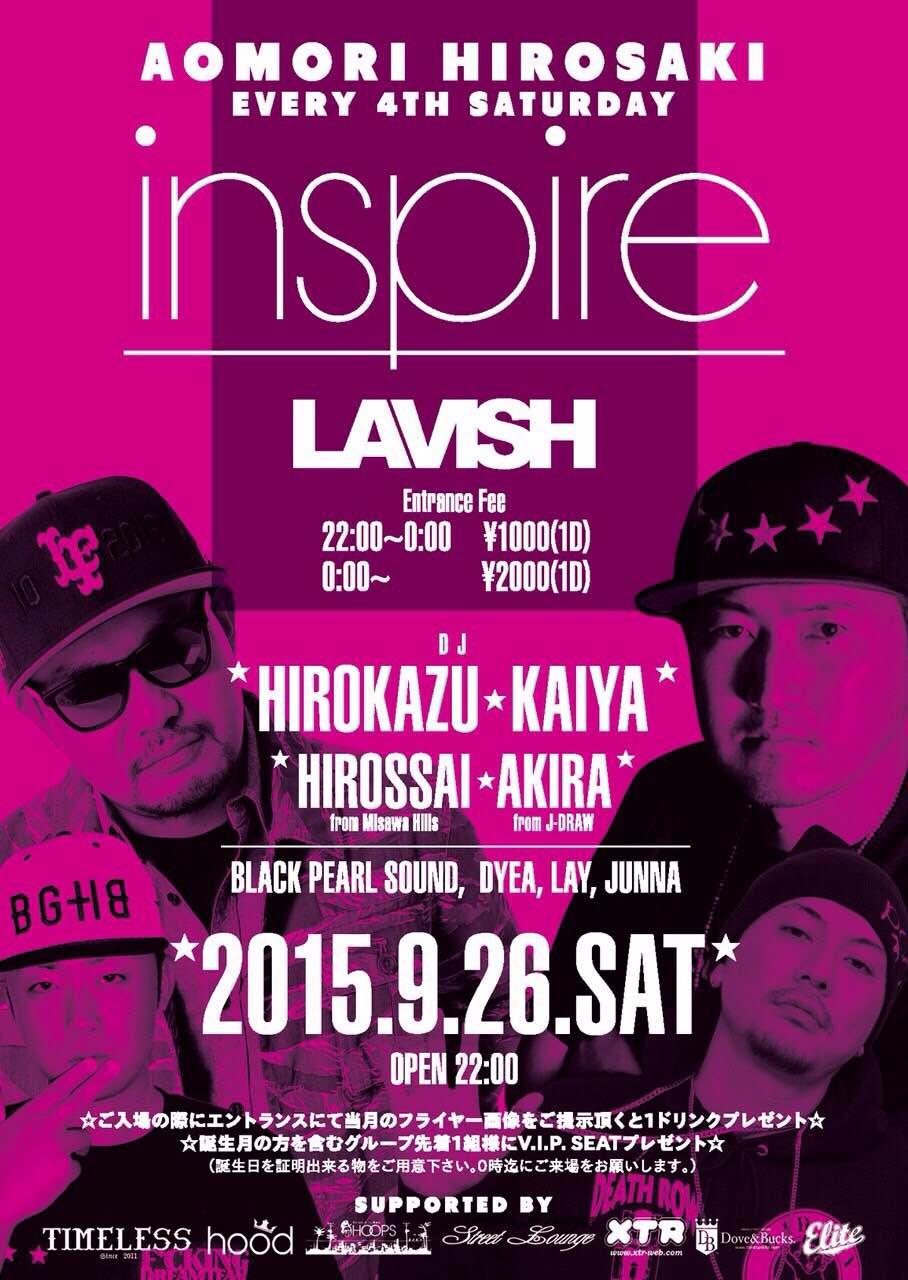 9/26 INSPIRE