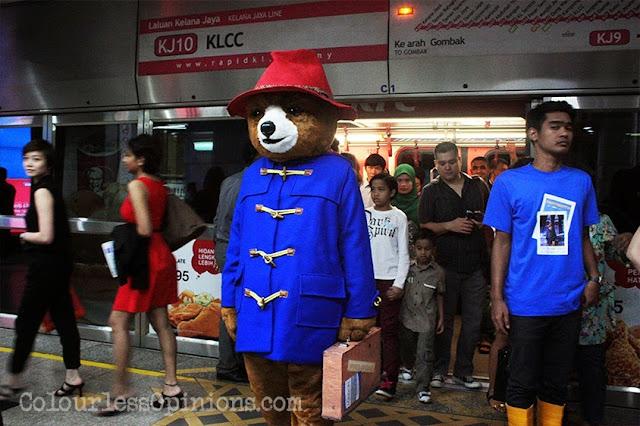 Paddington bear Malaysia KLCC