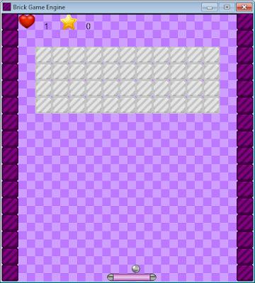 [Engine] Brick Game Engine 1.2 Screen