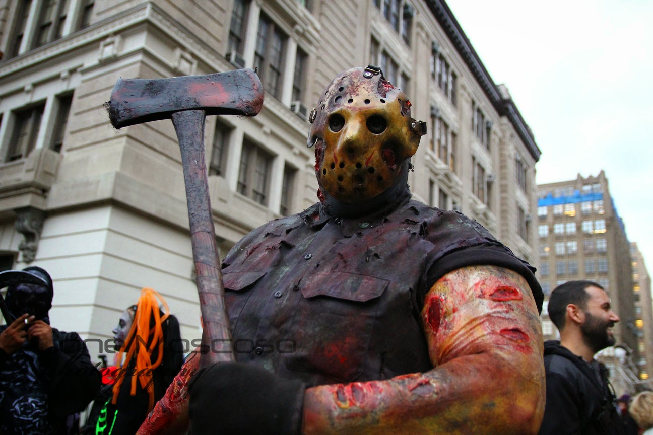 Desfile de Halloween 2014, Greenwish Village Manhattan, Nueva York