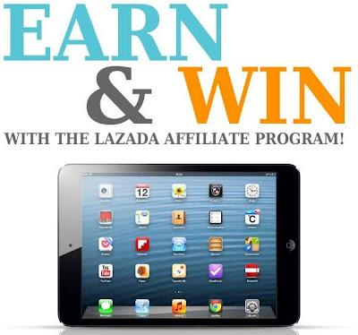 Lazada promo contest 2013 for bloggers-affiliate program