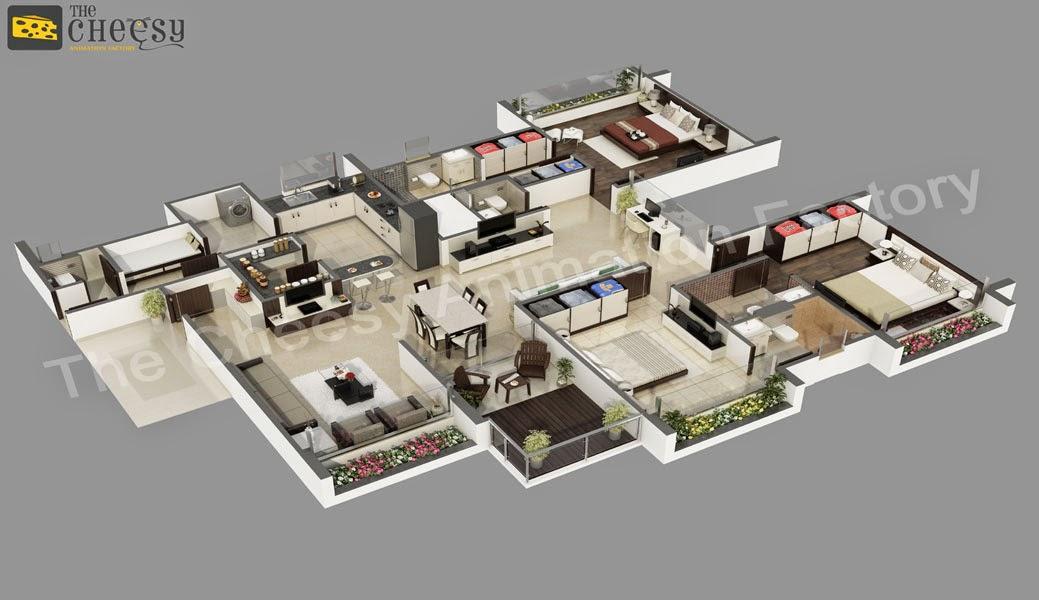 Isometric Images 3d Floor Plan