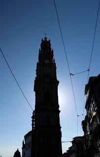 Torre dos Clerigos no Porto com Historias
