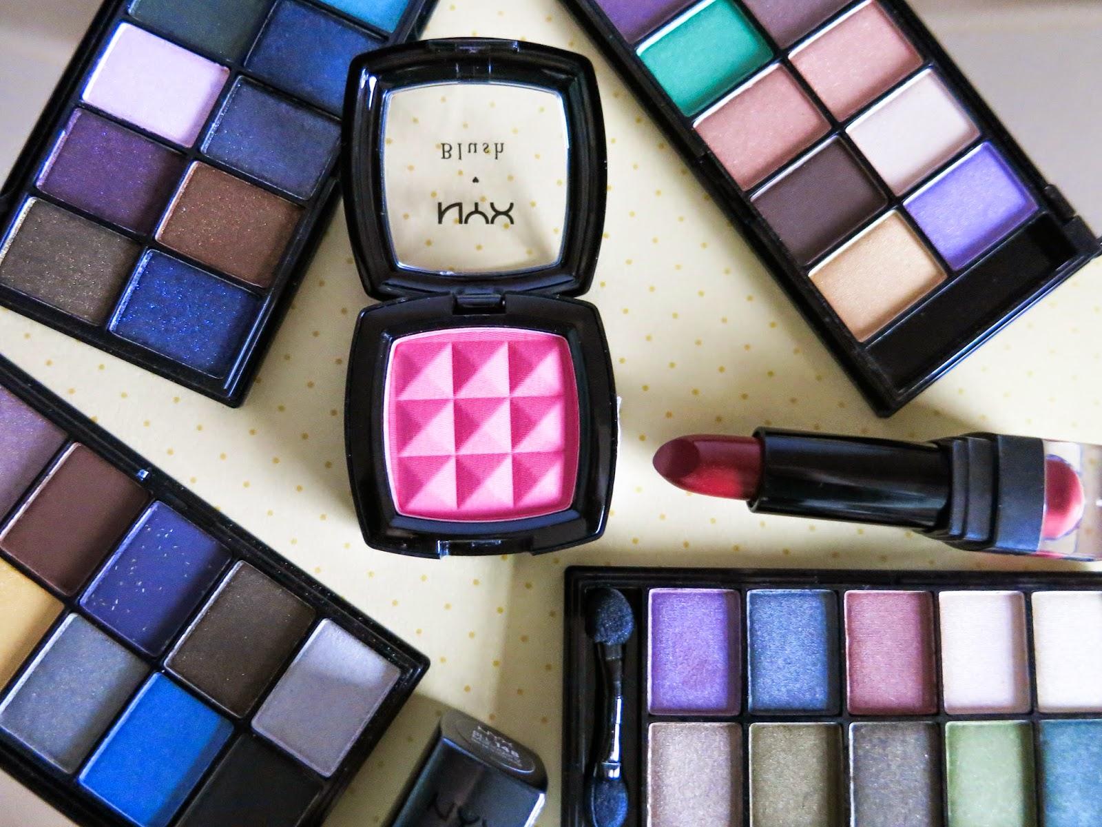 NYX makeup beauty haul