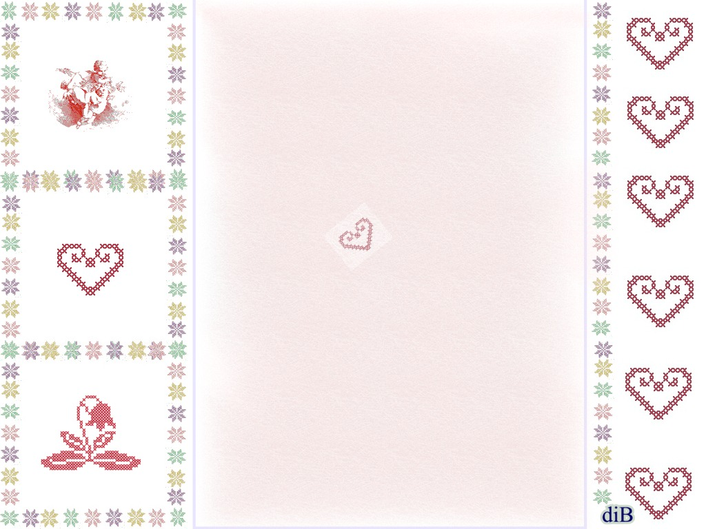 Ben noto Decorscrap Scrapbooking: Carta da stampare,cuori e fiori IN33