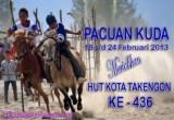 HUT Kota Takengon Ke-436 , Pacuan Kuda Kembali Digelar