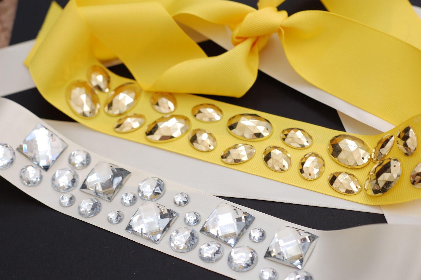 Just b b innovative diy crystal headband belt - Como hacer diademas ...