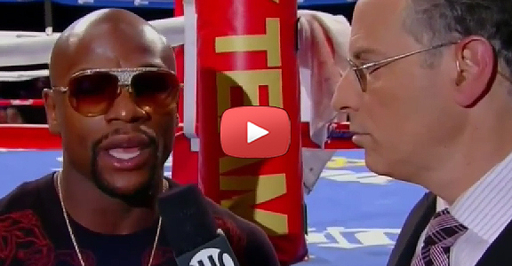 EXCLUSIVE! Floyd Mayweather Jr. Breaks Silence, Calls Out Manny Pacquiao (VIDEO)