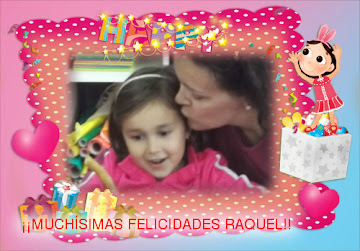 Cumpleaños de Raquel
