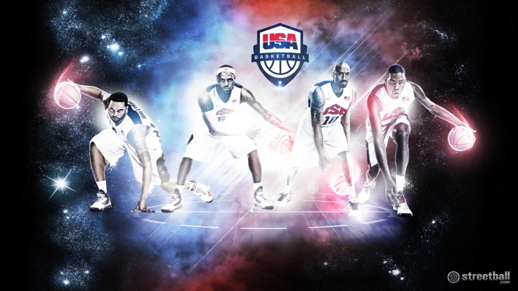 USA Olympics: USA Basketball Team 2012 Wallpaper