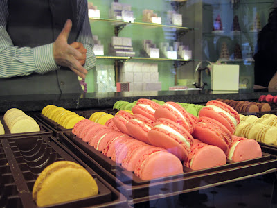 Laduree cookies are in high demand for diners in New York