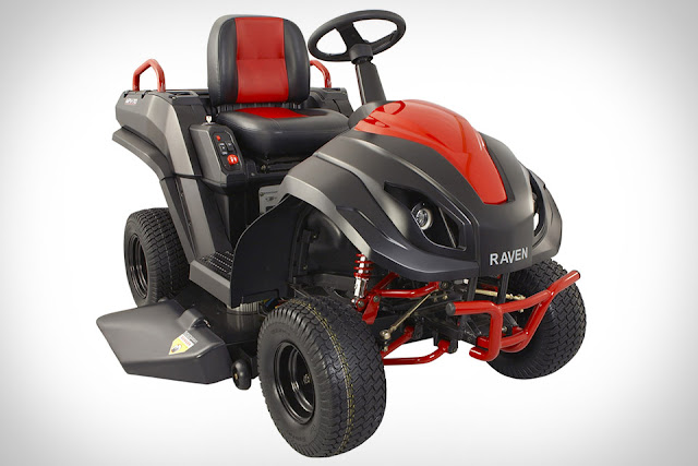 Raven Hybrid Riding Lawn Mower