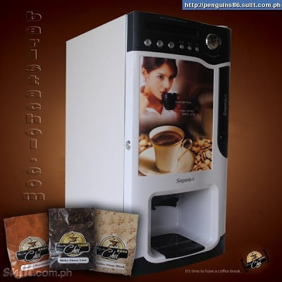 Sapoe Coffee Vending Machine