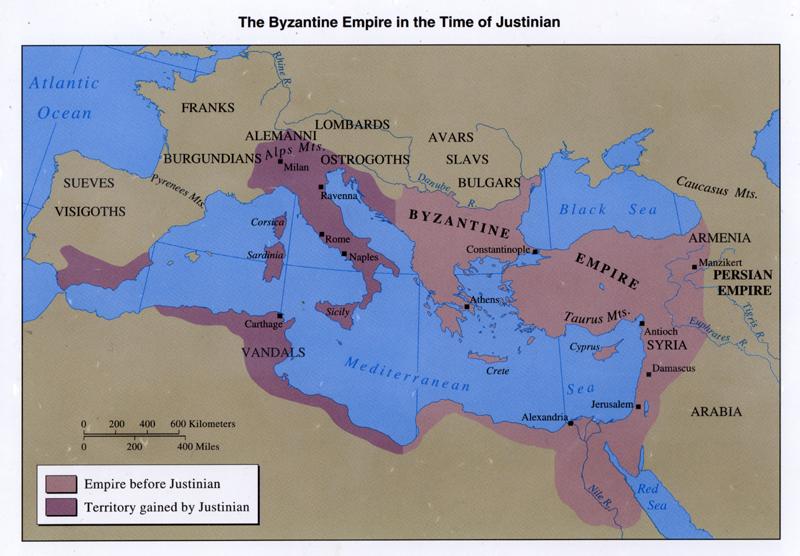 Lo Que Pasó en la Historia: August 1: On August 1st year ... Byzantine Empire Justinian