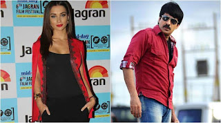Tollywood   NewsRavi Teja with Rajni's Present Heroine