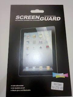 Anti Gores / Screen Guard Anti Glare ZTE Light Tab V9