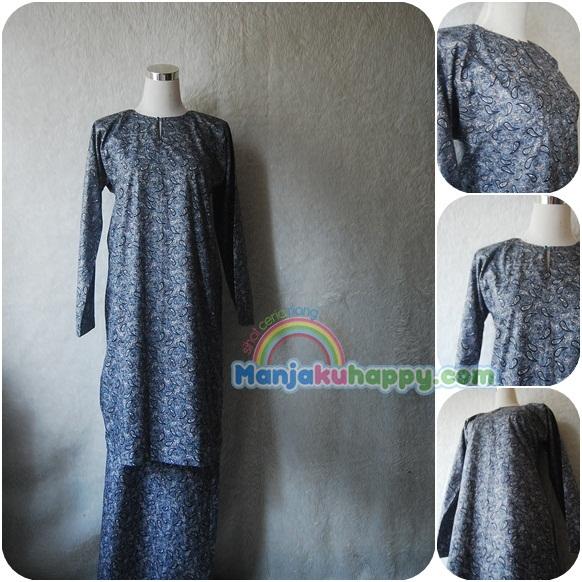 Baju Kurung Sedondon Ibu dan anak, juga satu tema dengan baju melayu.