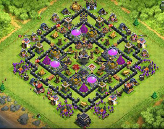 base th 9 coc anti maling terkuat anti pencuri, anti rampok