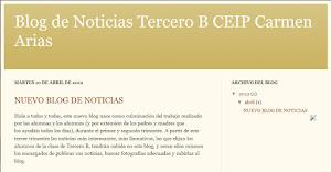 BLOG DE NOTICIAS TERCERO B
