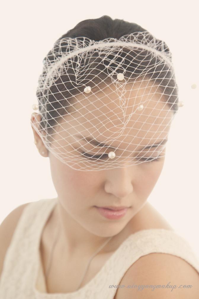 Vintage Wedding Makeup Artist : Modern vintage bridal make up styling Aivy Yong air ...
