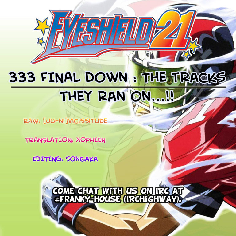 Eyeshield 21 - Final Down : The Tracks They Ran On...!! - 1