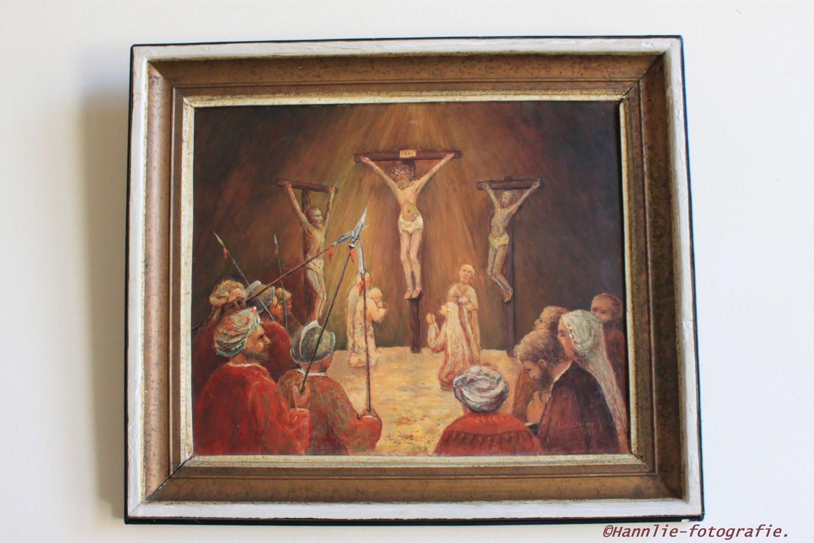 Hannlie fotografie grote of andreaskerk in hattem 4 - Schilderij van gang ...