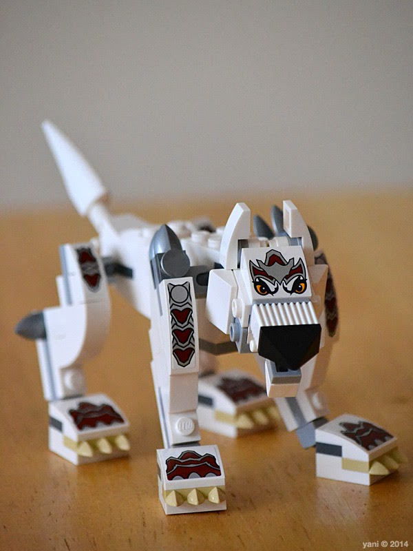 lego chima legend beast wolf - getting his wolf legend on
