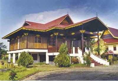 Desain Rumah Adat Jambi