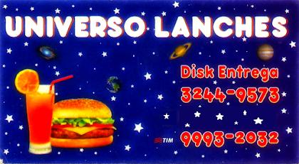 Universo Lanches EM NOVO ENDEREÇO