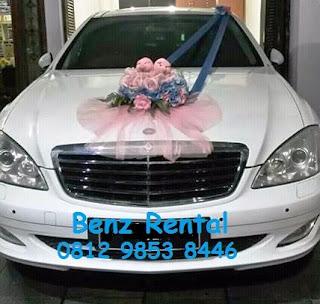 Rental sewa mobil pernikahan mercy di bogor