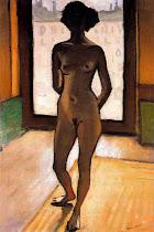 Desnudo a contraluz