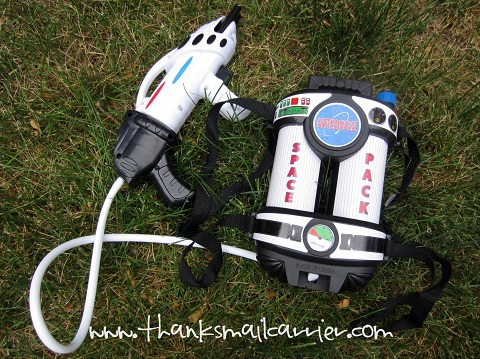 Aeromax space pack water gun
