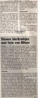 De levensloop van Alfons Robben werd hier uitvoerig besproken in dit artikel