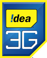 Idea 3g logo,Idea 3g loan service,internet at zero balance in Idea