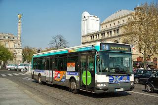 Autobuses públicos de Paris