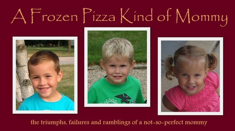 A Frozen Pizza Kind of Mommy
