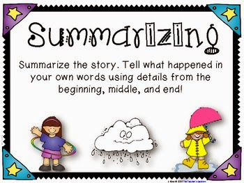 Summarizing and paraphrasing powerpoint lessons