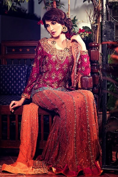 Latest Bridal Dresses Collection 2015