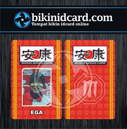 cetak id card pegawai klinik